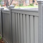 Affordable outdoor WPC backyard fence