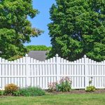 High environmental protection courtyard PVC fence