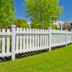 High quality Villa Complex PVC fence
