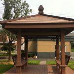 Moisture-proof WPC pavilion
