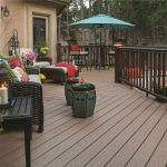 Easy Clean Green WPC Decking