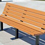 Environmentally friendly WPC bench