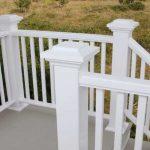 High-quality PVC balcony railing
