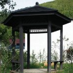 Inexpensive outdoor pavilion