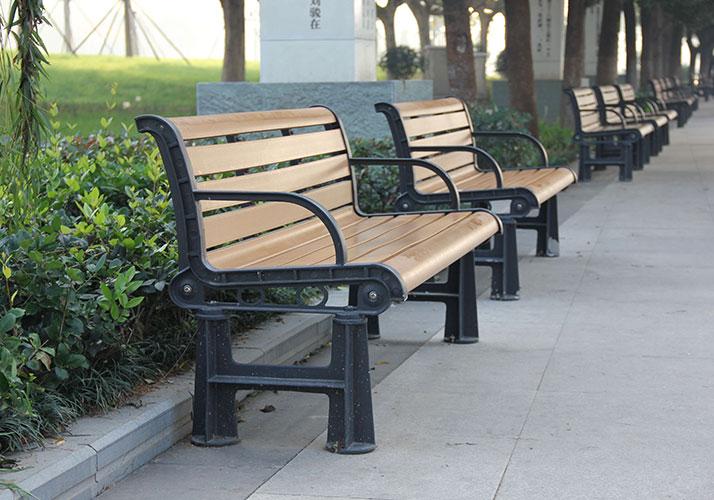 Lightweight WPC bench