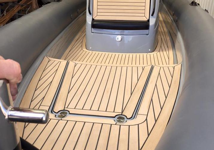 Marine Flooring Options - Marine Synthetic Teak Floor
