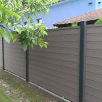 Safe residential WPC fence