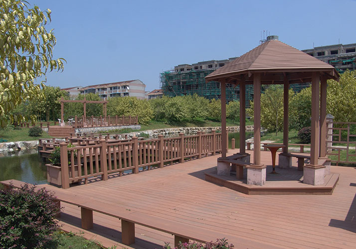 Anti-uv outdoor pavilion