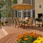 Heat Cold Resistant Composite Wood Tile