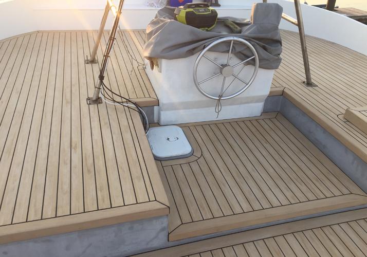 Low-Maintenance Yacht Deck Option