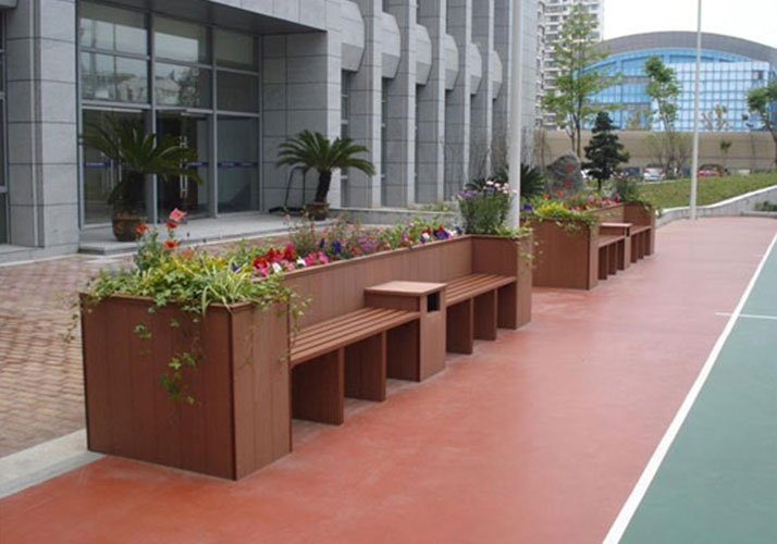 How to choose city WPC flower box