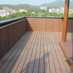 Seven trust wood plastic composite decking