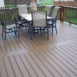 Outdoor inexpensive WPC flooring