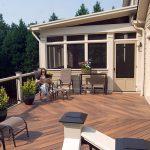 Comfortable outdoor wood plastic floor