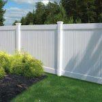 Garden privacy pvc fence