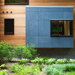 WPC Wall Panels Make The Building Look Simple And Natural