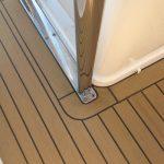 Low Maintenance Synthetic Teak Boat Decking